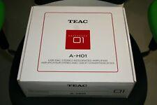 TEAC A-H01 USB DAC Verstärker in schwarz NEU OVP