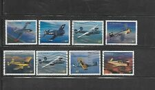 8 Used U.S. Advances in Aviation single Stamps