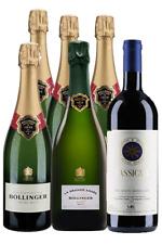 1 Sassicaia 2015 4 bott bollinger 1 bott champagne bollinger  LA GRANDE 2007