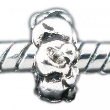 5 European beads 8x4mm fädelloch 4,6mm conj patrón perlas plata módulo perlas