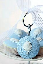 Splendido Shabby Chic Cupcake Cottura Canvas #865 Muro per Appendere Foto Art A1