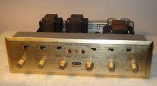 Vintage Scott 299 Stereo Integrated Tube Amplifier Needs Tubes