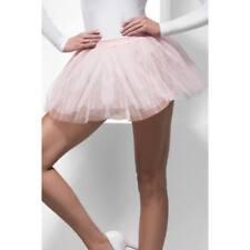 Pale Pink Tutu Underskirt Ladies 4 Layer 30cm Long Fancy Dress Accessory