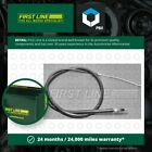 Handbrake Cable fits RENAULT R21 K48 1.9D Left or Right 89 to 94 F8Q710 Quality