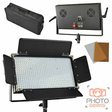 LED Panel Kit for Video / Photo - White 5600k - Photography Studio Continuous