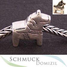 TROLLBEADS Silberbead Dala Pferd / Dala Horse 11312