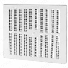 "WHITE ADJUSTABLE HIT & MISS LARGE AIR VENT~11.25"" x 10.5""~VENTILATOR COVER Grill"