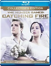 The Hunger Games: Catching Fire (Blu-ray/DVD, 2014; Collector's Edition)