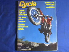 CYCLE MAGAZINE-MARCH 1977-HONDA GL1000-SUZ PE250-CAN AM 175/250 QUAL-VINTAGE