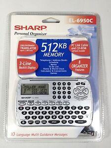 Sharp Personal Organizer EL-6950C 512 KB English/Spanish Translator Address Book
