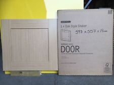 It Kitchens Oak Style Shaker 600mm X 557mm Bridging Unit Door Pack J