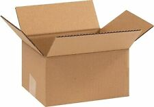 COASTWIDE 9 x 7 x 5 Shipping Boxes, 32 ECT, Brown 90705