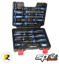 SP Tools 12pc Screwdriver Set with Hex Bolsters in Case SP34012