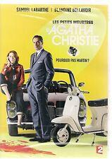 """DVD """"Les Petits meurtres d'Agatha Christie - Pourquoi pas Martin ?"""" neuf/blister"""