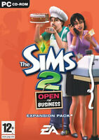 The Sims 2 Open for Business PC Expansion Pack Brand New Sealed