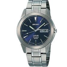 Seiko Mechanical (Automatic) Titanium Strap Wristwatches