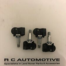 SET OF 4 LAND ROVER DISCOVERY 5 TYRE PRESSURE SENSOR TPMS VALVE GX63-1A159-AA