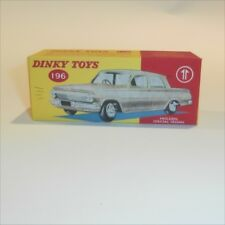 Dinky Toys 196 Holden Sedan empty Reproduction box