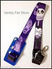 Nightmare Before Christmas Jack Skellington Lanyard with Breakaway Clip Keychain