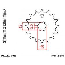 Pignon acier 10 dents jt chaîne 420 suzuki lt a-50 Jt sprockets JTF562.10