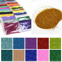 Wholesale 25g Bulk Packs Extra Ultra Fine Glitter Nails Art Body Nails Crafts