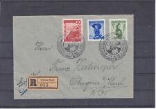 Portorichtiger Reco Brief Schwaz / Tirol mit Sonderstempel ECHT gel. 1.8.48