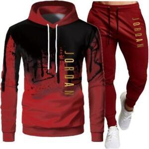 NEW Mens Michael Air Legend 23 Jordan Tracksuit Hoodie & Pants Sportswear Men