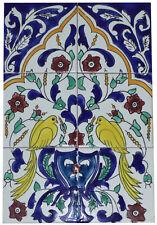 Fliesenbild Keramikfliesen Orient Handbemalt Wandfliesen Mediterran Mosaik 06 35