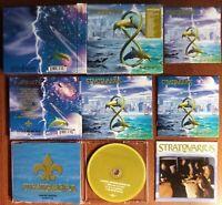 STRATOVARIOUS - INFINITE BOX INCLUDING DIGI CD BONUS CD STICKER PHOTO BOOKLET