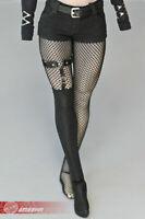 "1/6 Female Leg Straps&Half Black Sock Model Fit 12"" Phicen TBLeague Figure Body"