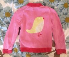 Baby Boden Girls Pink Cardigan Age 3-4 Years 3-4 Ans 3-4 Anos
