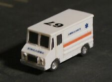 STEP VAN AMBULANCE EMS - Z-5050E - Easy to build Z Scale kit - Made in the USA