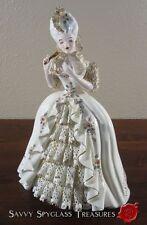 Florence Ceramics Pasadena Porcelain Figurine Marie Antoinette with Fan