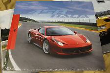 FERRARI 458 ITALIA brochure hardover Prospekt catalogue 95993236