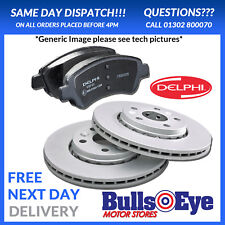 Coated Delphi Discs and Pads Genuine OE Quality Vauxhall Insignia 321mm