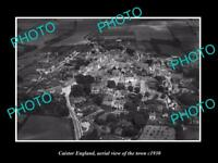 OLD LARGE HISTORIC PHOTO OF CAISTOR ENGLAND, VIEW OF THE TOWN c1930 1