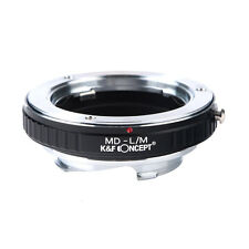 MD-L/M Lens Adapter Ring for Minolta MD Lens to Leica M LM  M9-P Mount Cameras