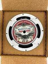Warehouse ET10 British Invasion Guitar Speaker 10 inch 65 watts 4 ohm