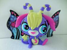 Littlest Pet Shop LPS Glow In the Dark Moonlite Fairy Blue Eyes
