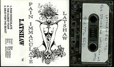 Latshaw Pain Immaculate Demo Cassette Tape private indie death metal