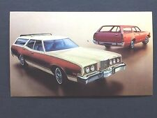 1973 MERCURY MONTEGO  promotional postcard (for dealers use)   Valparaiso, IN