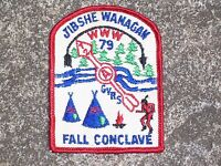 BSA Boy Scout Jibshe Wanagan 1972 Patch Boy Scout Patch Vintage