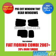 FIAT FIORINO COMBI 2007+ 20% DARK REAR PRE CUT WINDOW TINT