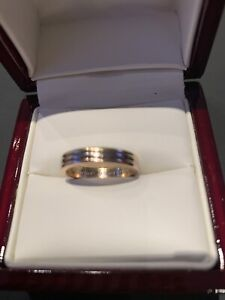 Authentic Cartier trinity wedding band