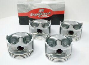 """93 94 95 96 97 Ford Probe 2.0L DOHC L4 16V """"A""""- (4) DISH TOP PISTONS & RINGS"""