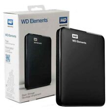 "HARD DISK ESTERNO 2,5"" WD ELEMENTS WESTERN DIGITAL 4TB USB 3.0 WDBU6Y0040BBK"