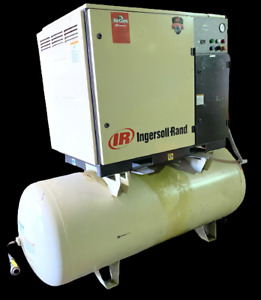 Ingersoll Rand UP6-30-125 30 HP Rotary Screw Air Compressor 125 PSI 240 Gal