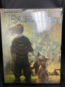 Fable 2 II Limited Edition Strategy Guide By BradyGames w/ Art Book SEALED NEW