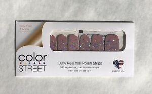 Color Street Nail Polish Strips PARIS COUTURE Rare *RETIRED* HTF Glitter New