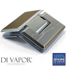 Di Vapor (R) 135 Degree Glass to Glass Shower Door Hinge | Chrome Plated | Pivot